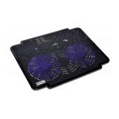 Laptop Cooler Mobilis K17 Black for Laptop up to 15.6