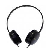 Stereo Headphones Keeka U-1 3.5 mm for Apple-Samsung-HTC-BlackBerry-LG Black