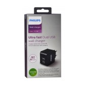 Travel Charger Philips DLP2307 Dual USB 15.5W 3.1A Fast Charger