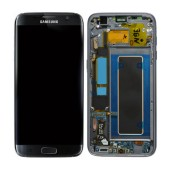 Original LCD & Digitizer Samsung SM-G935F Galaxy S7 Edge Black with Frame and Charging Connector GH97-18533A