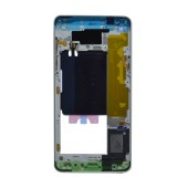 Middle Frame Cover Samsung SM-A510F Galaxy A5 (2016) with Buzzer and On/Off. Volume Buttons White Original GH96-09826C