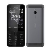 Nokia 230 Dual Sim Dark Silver GR