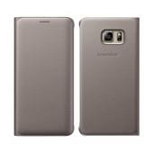 Book Case Samsung Flip Wallet EF-WG928PFEGWW for SM-G928F Galaxy S6 Edge+ Gold