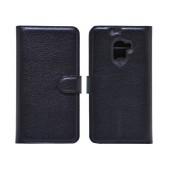 Book Case Ancus Teneo for Lenovo A7010 Black