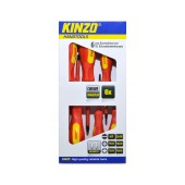 Screwdrive Kinzo 72027 Set 6 Pcs Magnetic Red - Yellow