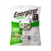Energizer Vision HD+ Headlight 3 Led 250 Lumens with Batteries 3 x AAA Green