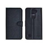 Book Case Ancus Teneo for LG K7 X210 TPU Black