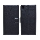 Book Case Ancus Teneo TPU for Honor 4A Black