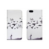 Book Case Ancus Art Collection for Apple iPhone 6/6S Faith