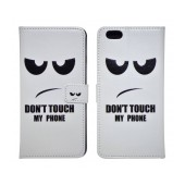 Book Case Ancus Art Collection for Apple iPhone 6 Plus/6S Plus Don't Touch My Phone