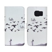 Book Case Ancus Art Collection for Samsung SM-G935 Galaxy S7 Edge Faith