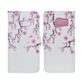 Book Case Ancus Art Collection for Samsung SM-G935 Galaxy S7 Edge Almond Tree