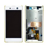Original LCD & Digitizer for Sony Xperia M5 E5603 White 191HLY0004B-WCS