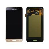 Original LCD & Digitizer Samsung SM-J320F Galaxy J3 (2016) Gold GH97-18414B, GH97-18748B