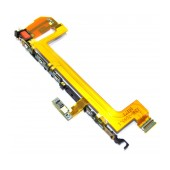 On/Off Switch Button Sony Xperia X F5121 / X Dual F5122 with Side Keys and Flex Cable Original 1296-7099