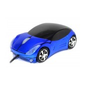 Mobilis Car AA-07 Wired Mouse 3 Button 1200 DPI Blue (100*50*35mm)