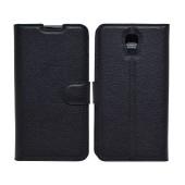 Book Case Ancus Teneo για LG X Screen K500N TPU Black