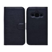 Book Case Ancus Teneo for Samsung SM-G388F Galaxy Xcover 3 TPU Black