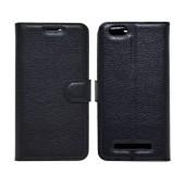 Book Case Ancus Teneo for Lenovo Vibe C A2020 TPU Black