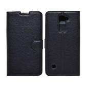 Book Case Ancus Teneo for LG Stylus 2 K520 TPU Black