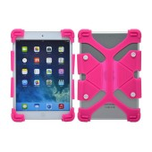 Silicone Case Ancus Universal for Tablet 7'' - 8'' Inches Fuchsia (20 cm x 12 cm)