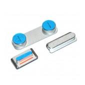 Set Κeypad Apple iPhone 5S/SE Silver OEM Type A