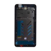 Front Cover Frame Hisense F20 Black with Glue Original 1025046