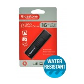 USB 2.0 Gigastone Flash Drive UD-2200 Traveler 16GB Black