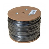 Ethernet Cable Jasper Cat 6 UTP 24AWG CCA Solid 305m Grey Outdoor Use