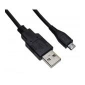 Data Cable Ancus USB AM to Micro USB B Black 3m
