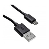 Data Cable Jasper USB AM to Micro USB B Black 0.5m Bulk