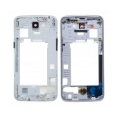 Middle Frame Cover LG K4 4G K120E with Buzzer, Antenna and Camera Lens Black Original ACQ89070201