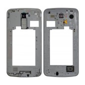 Middle Frame Cover LG K10 K420N with Buzzer, Antenna and Camera Lens White Original ACQ88957001