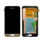 Original LCD & Digitizer Samsung SM-J120F Galaxy J1 (2016) Gold GH97-18224B
