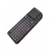 Wireless Keyboard Ultra Mini with Touchpad All-in-One for PC, SmartTV, Android TV Black