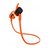Bluetooth Hands Free Jabees beatING Sport Sweat-Proof IPX4 with Flat Cable Orange