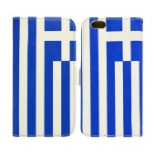 Book Case Ancus Flag Collection for Apple iPhone 6 Plus/6S Plus Greece