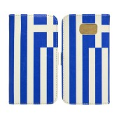 Book Case Ancus Flag Collection for Samsung SM-G920F Galaxy S6 Greece