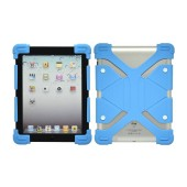 Silicone Case Ancus Universal for Tablet 8,9'' - 12'' Inches Blue (24 cm x 17 cm)