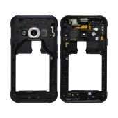 Middle Frame Cover Samsung SM-G389F Galaxy Xcover 3 VE (2016) with Jack Conn, Receiver and Buzzer Black Original GH98-39213A