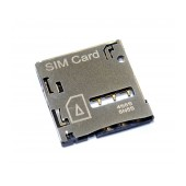 Sim Connector Samsung N7100 Galaxy Note II OEM Type A