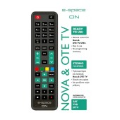Remote Control E-Space ON for Nova & OTE TV STB's Ready to Use