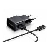 Travel Charger Samsung ETA-U90EΒΕ 10W with Detachable Cable Micro USB ECB-DU4EBE Black 2000 mAh Original Bulk