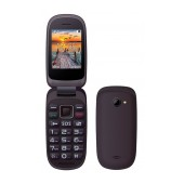Maxcom MM818 (Dual Sim) with Large Buttons, Radio (Works without Handsfre), and Emergency Button Black