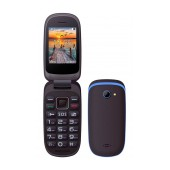 Maxcom MM818 (Dual Sim) with Large Buttons, Radio (Works without Handsfre), and Emergency Button Black-Blue