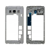 Middle Frame Cover Samsung SM-J510F Galaxy J5 (2016) White with Camera Lens Original GH98-39490C