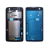 Front Cover Frame LG K7 X210 Black Original MCK69252101