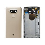 Back Cover LG G5 H850 with On/Off, Side Button, Motor, Camera Lens Gold Original ACQ88954404