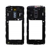 Middle Frame Cover LG K7 X210 with Buzzer, Antenna and Camera Lens Black Original ACQ88938907