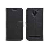 Book Case Ancus Teneo for Lenovo Vibe C2 TPU Black